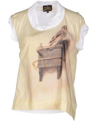 Vivienne Westwood Anglomania Short Sleeve Tshirt - Lyst