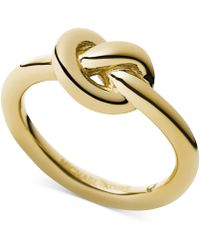 Michael Kors Knot Ring - Lyst