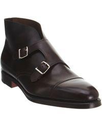 John Lobb William Ii Double-Monk Shoes - Lyst