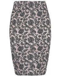 Day Birger Et Mikkelsen Lace Black Night Lotus Skirt - Lyst