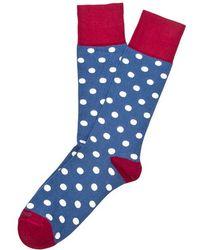 Etiquette - Dotted Socks - Lyst