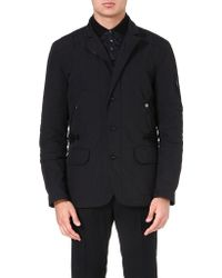 Ralph Lauren Black Label Military-style Coat - Lyst