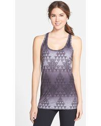 The North Face Women'S 'T Lite' Print Racerback Tank - Lyst