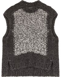Isabel Marant Sergio Wool Top - Lyst