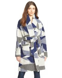 Plenty by Tracy Reese - Sweater Coat - Lyst