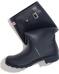 Madewell Hunter Packable Wellies - Lyst