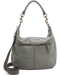 Liebeskind Pazia Hobo Bag French Grey - Lyst