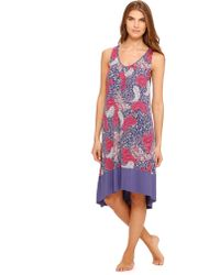 Ellen Tracy Redy Set Fall Sleeveless Nightgown - Lyst