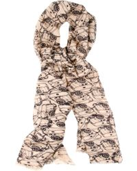 By Malene Birger Minona Camera Scarf - Lyst