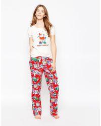 Cath Kidston - Christmas Pyjama Bottoms - Lyst