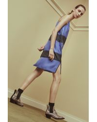 Rag & Bone Harris Dress blue - Lyst