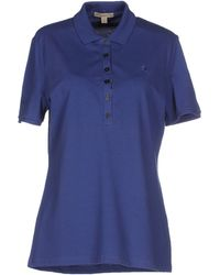 Burberry Brit - Polo Shirt - Lyst