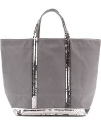 Vanessa Bruno Cabas Medium Linen Shopper - Lyst
