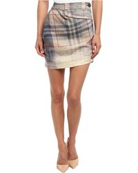 Vivienne Westwood Anglomania Isolation Mini Skirt - Lyst