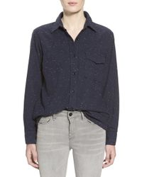 Earnest Sewn - 'the Pence' Boy Shirt - Lyst