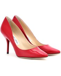 Jimmy Choo Mei Patent Leather Pumps - Lyst