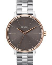Nixon - Women's Kensington Bracelet Strap Watch - Lyst