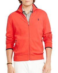 Ralph Lauren Polo Full-Zip Track Jacket - Lyst