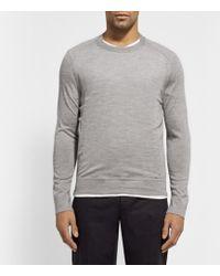 Maison Martin Margiela Crew Neck Cashmere Sweater - Lyst