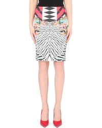 Clover Canyon Toucan Neoprene Skirt - Lyst