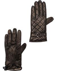 SOIA & KYO - Messinan Gloves in Black - Lyst