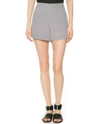 Equipment Lewis Shorts Black - Lyst