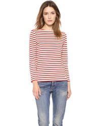 Tory Burch Tessa Striped Top   - Lyst