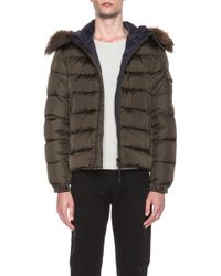 Moncler Byron Jacket with Fur Hood - Lyst