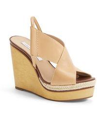 Diane von Furstenberg Women'S 'Gladys' Wedge Sandal - Lyst
