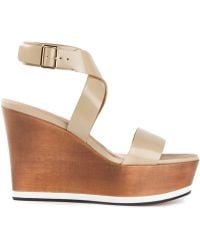 Givenchy Wedge Sandals - Lyst