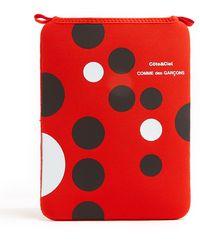 Comme Des Garcons Wallets Black and White Dots Ipad Case - Lyst