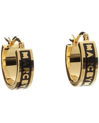 Marc By Marc Jacobs Classic Marc Huggie Hoops - Lyst