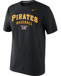 Nike Mens Pittsburgh Pirates Practice Tshirt - Lyst