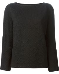 Tory Burch Bobble Knit Sweater - Lyst