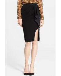 Altuzarra Ruffle Detail Wrap Skirt - Lyst