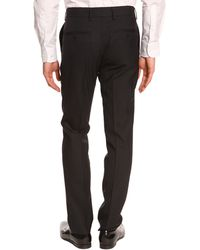 Filippa K Christian Navy Blue Suit Trousers - Lyst