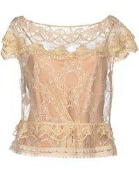 Alberta Ferretti T-shirt - Lyst