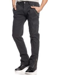 Guess Iconic Twill Cargo Pants - Lyst