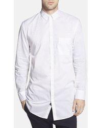 Zanerobe 'Eight Foot' Elongated Print Woven Shirt - Lyst