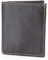 Kenneth Cole Reaction Brown Slim Square Passcase - Lyst