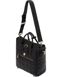 d2e0665b47 ... canada mulberry large cara delevingne quilted nappa bag lyst 0381b  a9f09 ...
