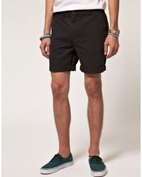 Asos Mid Length Chino Shorts - Lyst