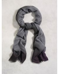 John Varvatos - Multicolour Heathered Scarf - Lyst
