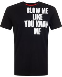 House of Holland | Blow Me Tee | Lyst