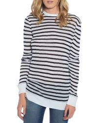 T By Alexander Wang Stripe Top - Lyst