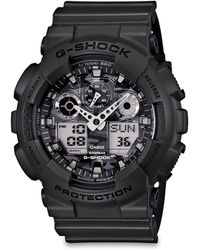 G-Shock Classic Series Camouflage Analog Digital Watch - Lyst