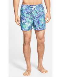 Rainforest - 'Fluidity' Print Swim Trunks - Lyst