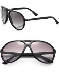Gucci | 61mm Aviator Sunglasses | Lyst