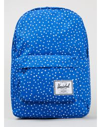 TOPMAN - Herschel Classic Blue Backpack - Lyst