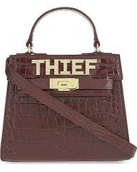 Mawi - Dealer Thief Mini Leather Cross-body Bag - Lyst